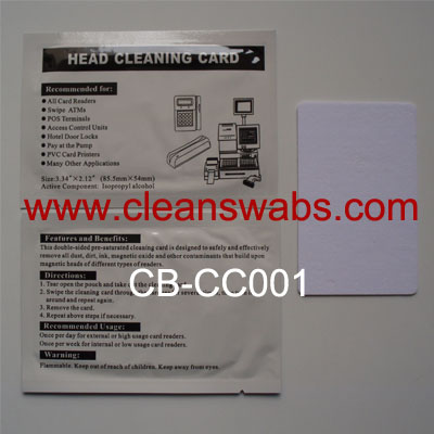 CB-CC001 Card Printer Cleaning Card