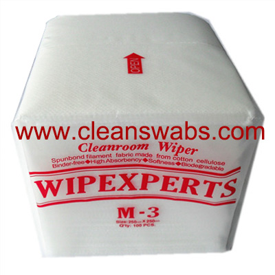 M-3 Series Non-Woven White Wipes